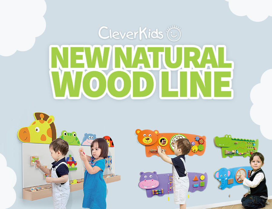 New Natural Wood Line