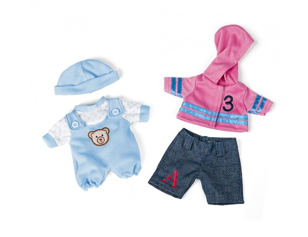 Dolls Clothes (21cm Bundle)