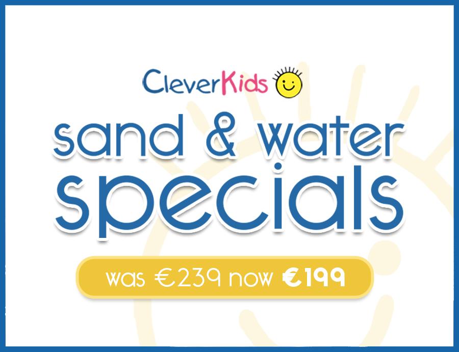Sand + Water Specials