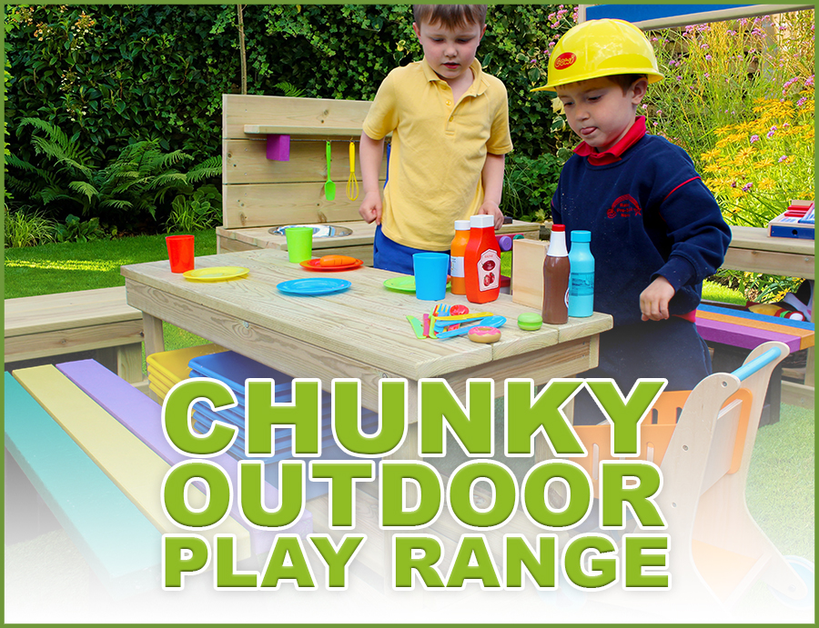 Cleverkids Chunky Outdoor Play Range