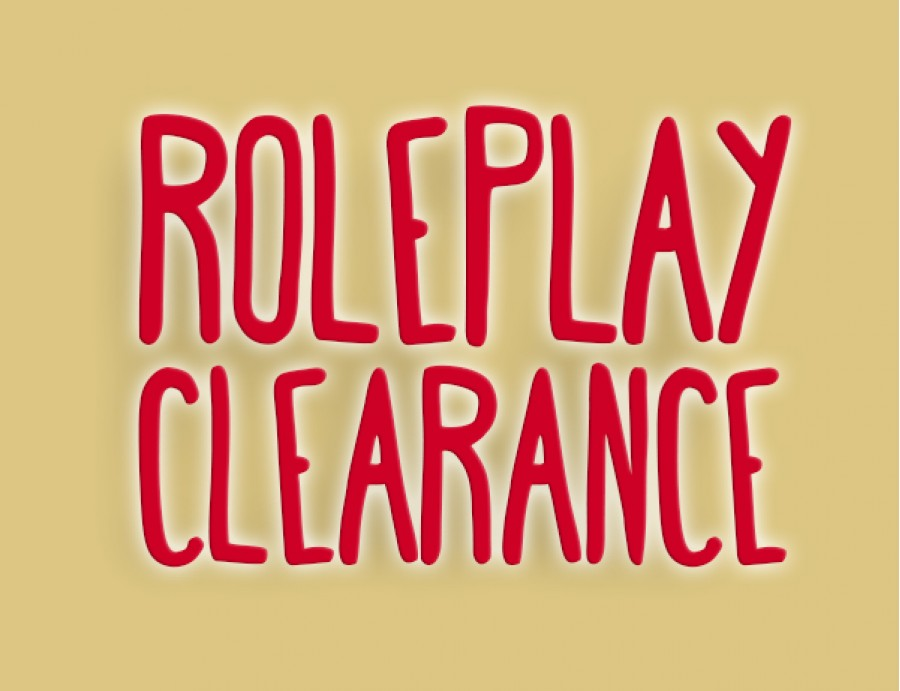 Roleplay Furniture Clearance Sale (20% OFF)