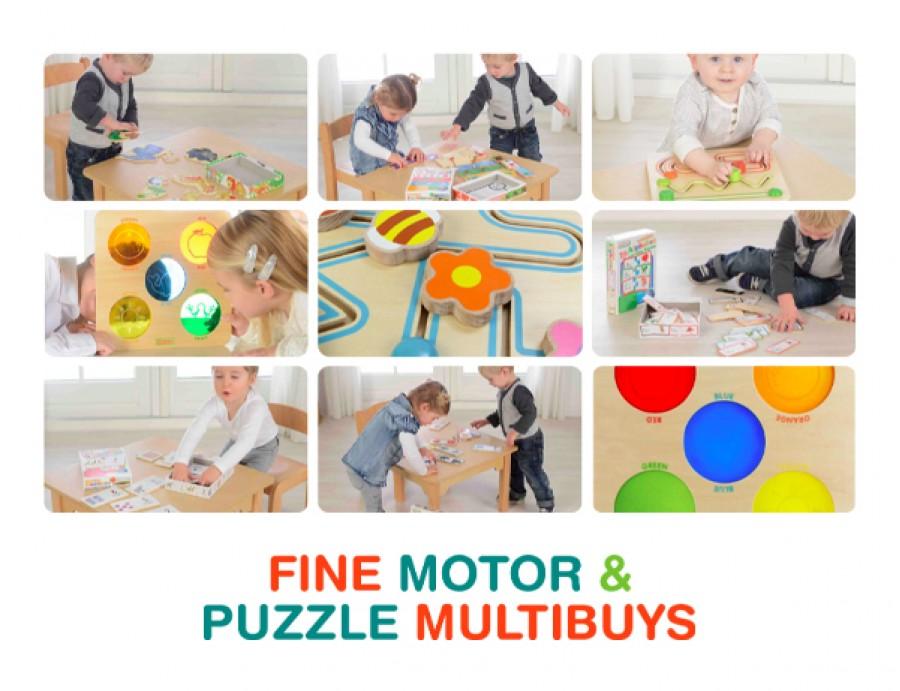 Fine Motor & Puzzle Multibuy Deals