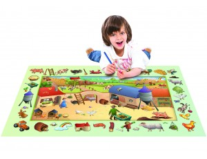 Playmat - Discoveries - Farm