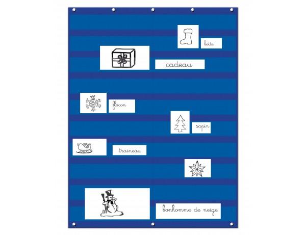 Word board - Blue