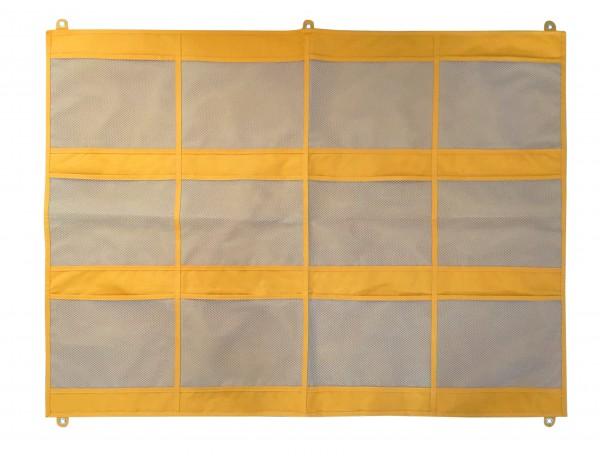 Wall Storage 3 Yellow - 12 pockets