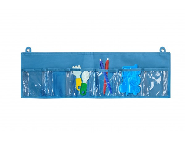 Wall Storage 6 Blue - 6 pockets