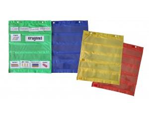 Display Pockets - Set of 4 colors