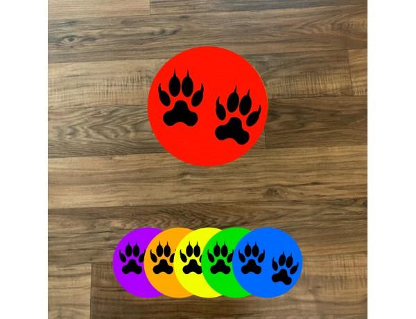 Animal Floor Stickers (6 Pack)