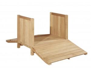 Outdoor Wooden Bridge (Cleverkids Premium)