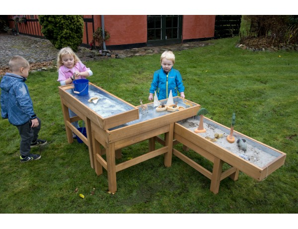 New Water and Sand Table with Pump (Cleverkids Premium)
