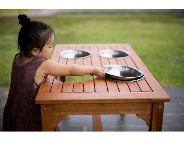 Outdoor Rectangular Mud Mix Table (Cleverkids Premium)
