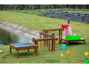 New Waterfall with Sand and Water table (Cleverkids Premium)