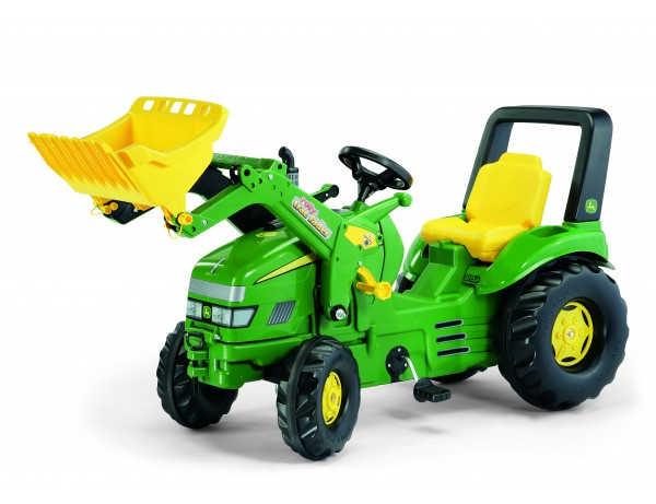 X-TRAC JOHN DEERE WITH LOADER