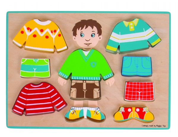 Dressing Up Boy Puzzle