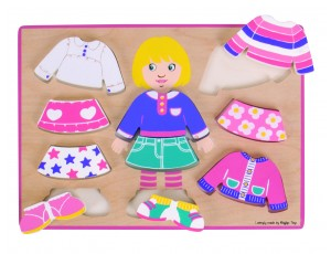 Dressing Up Girl Puzzle