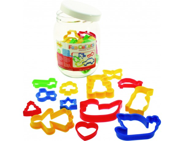 Jar of Pastry Cutters