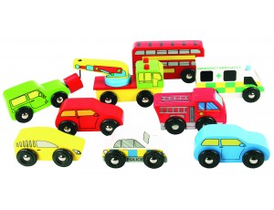 Vehicle Pack Set of 9 vehicles