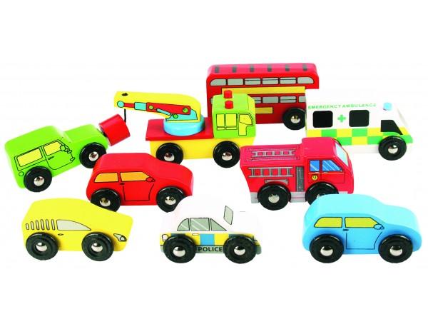 Vehicle Pack Set of 9 vehicles