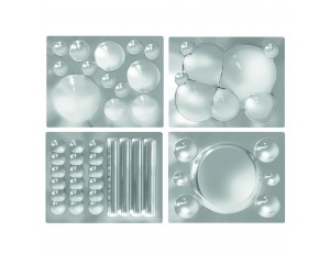 Multi Effect Mirrors Set of 4