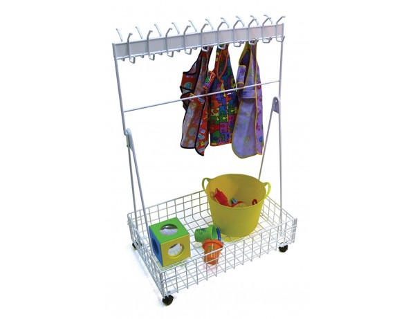 Mobile Cloakroom / Heavy Duty - Ideal for Schools and Nurseries