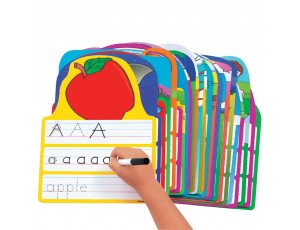 Write and Wipe Alphabet Practice Cards