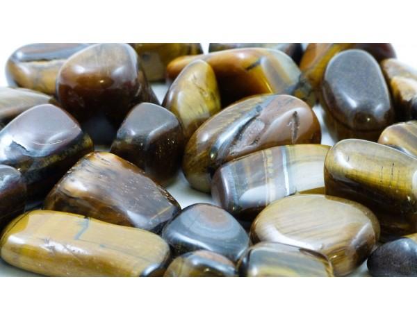 Polished Stones Tigers Eye