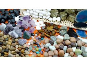 Stones / Minerals Treasure Basket