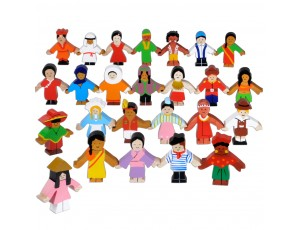 Wooden Children of the World