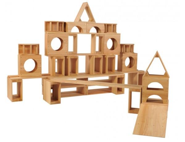 Hollow Blocks - 52 Pieces