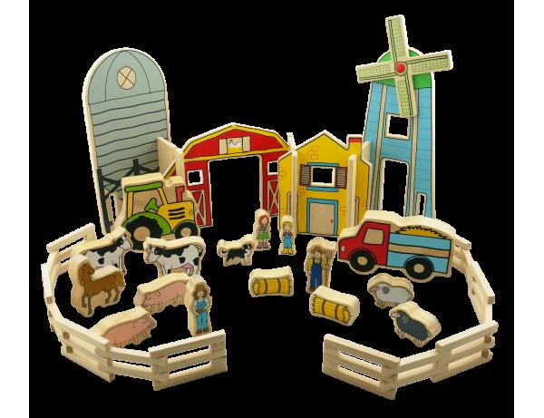 Happy Architect Farm Set