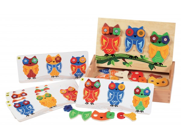 Mix & Match Owls (3+)