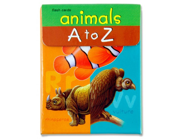 Flash Cards-Animal A To Z