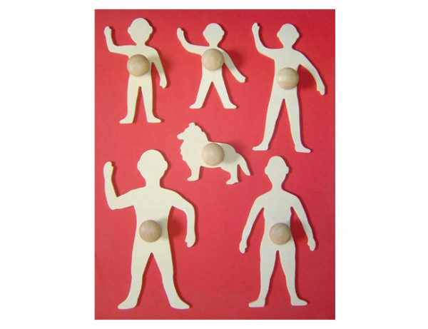My Family - Set of 6 Wooden Templates