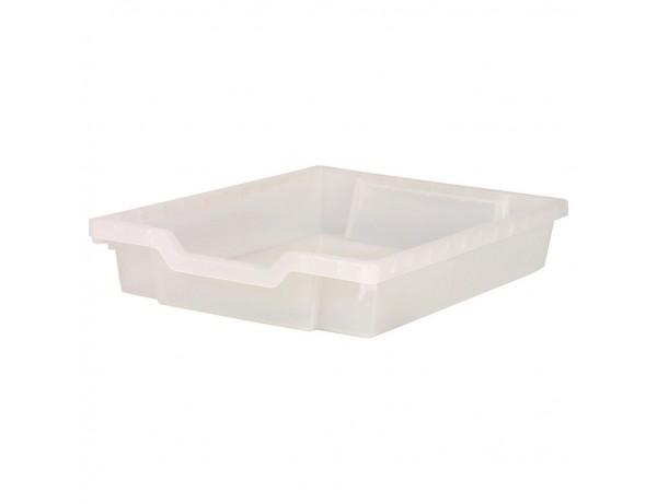 Shallow Storage Premium Bin - CLEAR