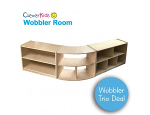 Wobbler Trio Storage Deal 4 - 61cm