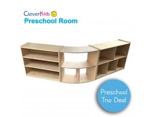 Preschool Trio Storage Deal 4 - 76cm