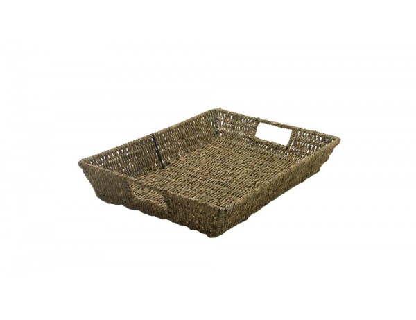 Seagrass Shallow Basket