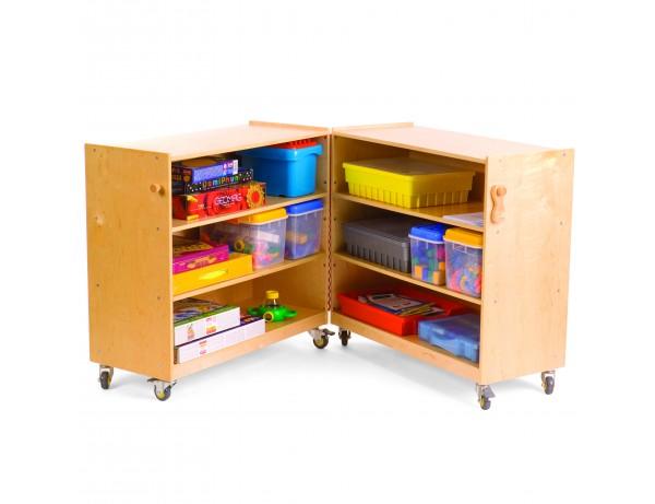 Fold and Lock Storage