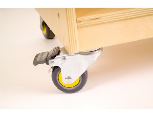 Castors (Set of 4 lockable castors)