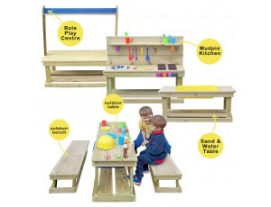 Chunky Outdoor Play Range Set 3