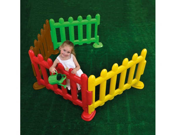 Rainbow Partition Fencing (Set of 4)