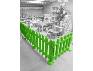 Green Partition Fencing (Set of 4)