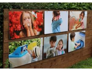 Indoor/Outdoor Learning Boards - Hygiene (Set of 6)