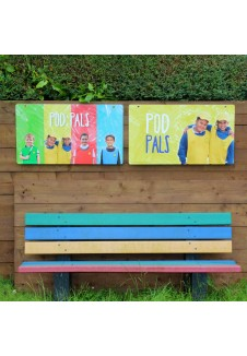 Indoor/Outdoor Learning Boards - Pod Pals (Set of 2)