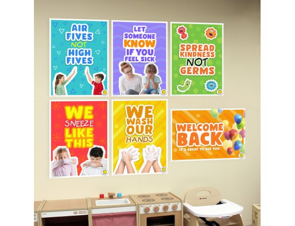 A2 Wall Posters - Back to School Posters (Set of 6)