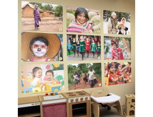 A2 Wall Posters - Children of the World (Set of 9)
