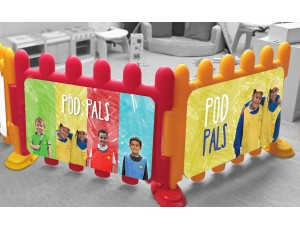 Wall & Fencing Posters Set of 2 (Large) - Pod Pals
