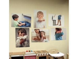 A2 Wall Posters - Hygiene (Set of 6)