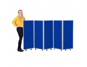 Mobile Foldable Screens Nyloop Fabric (1200mm High)