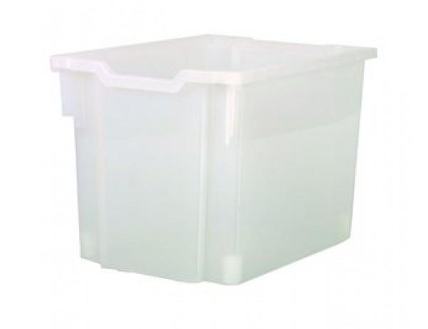Jumbo Premium Storage Bin - CLEAR